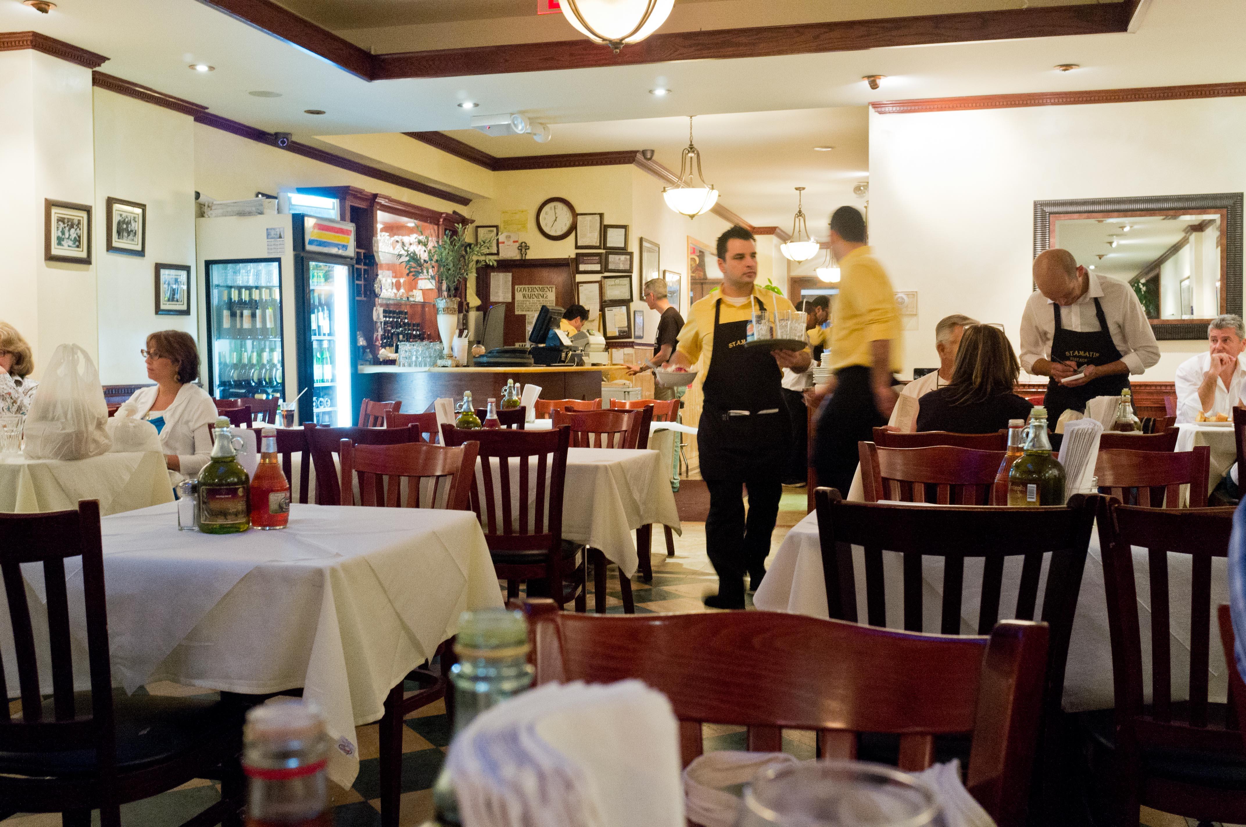 Greek Feast In Astoria At Stamatis Sometimes I Crave
